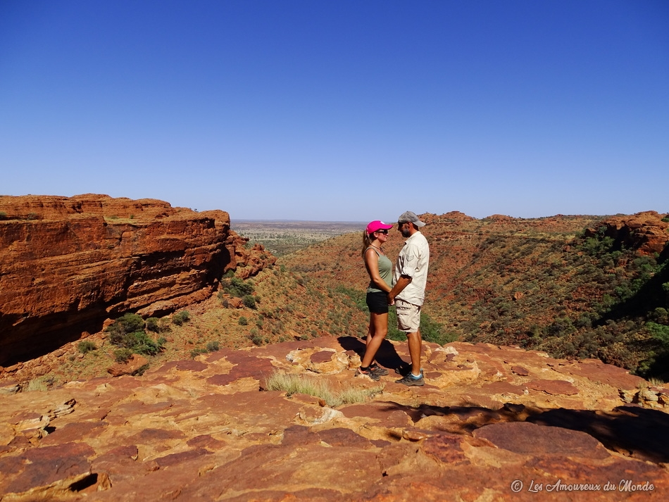 Kings Canyon - Centre Rouge - Australie