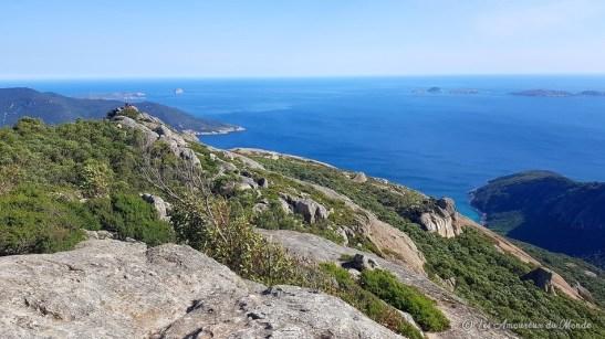 sommet du mont Oberon Wilsons Promontory - Australie