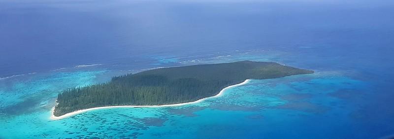 île des Pins vue du ciel