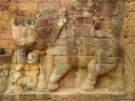 La Terrasse des Elephans - Temples d'Angkor