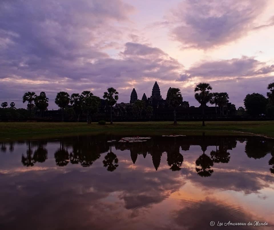 lever de soleil sur Angkor Vat - Cambodge