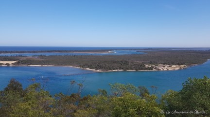 Point de vue près de Lakes Entrance