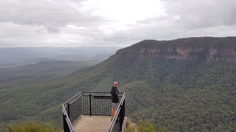 Cahills lookout - Blue Mountains
