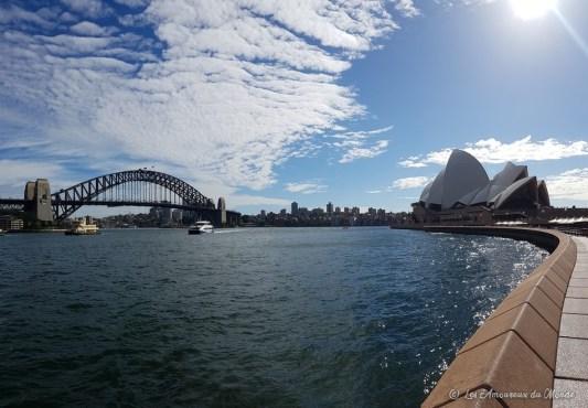 Opéra de Sydney et Harbour Bridge - Australie