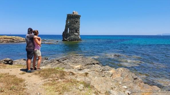 Tour génoise Santa Maria - sentier des douaniers - Cap Corse