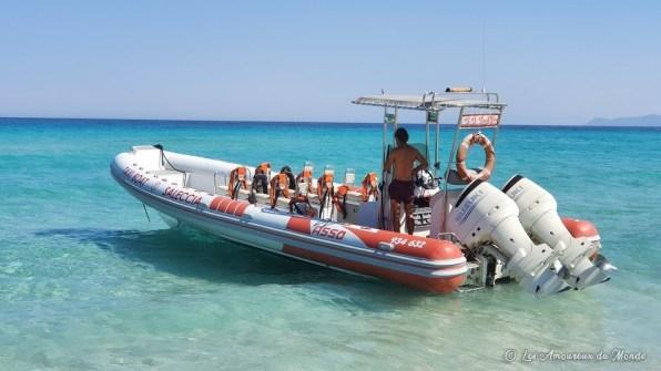 Taxi boat Saint Florent - plages du désert des Agriates