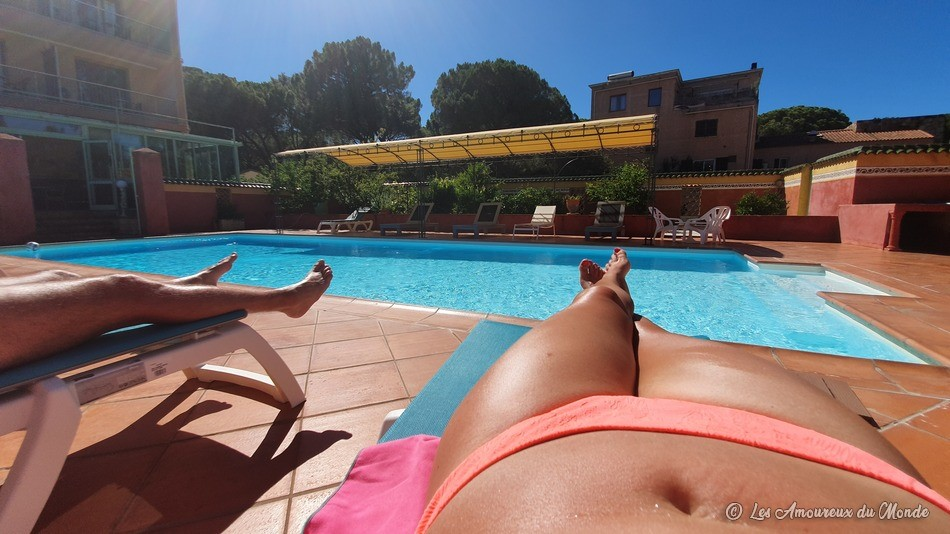 Hôtel Cyrnea avec piscine à Calvi