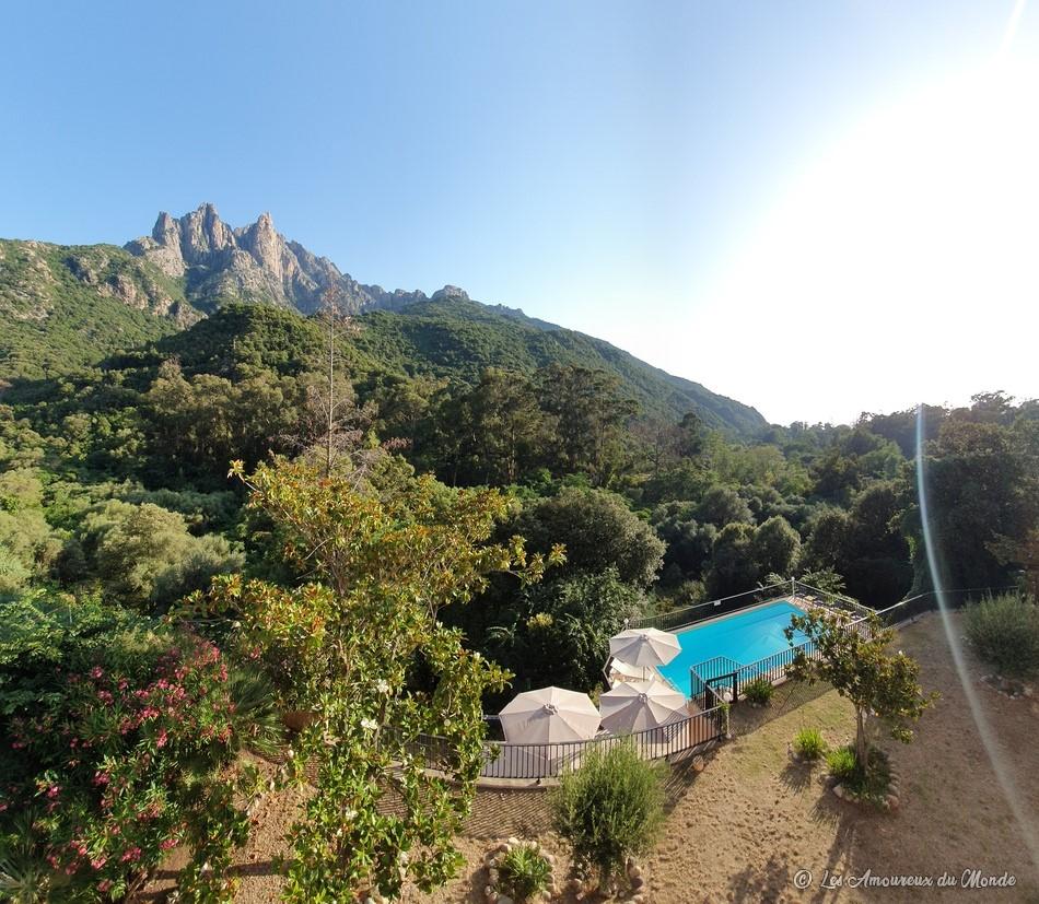 Hôtel et Résidence Cala Di Sole à Porto-Ota en Corse