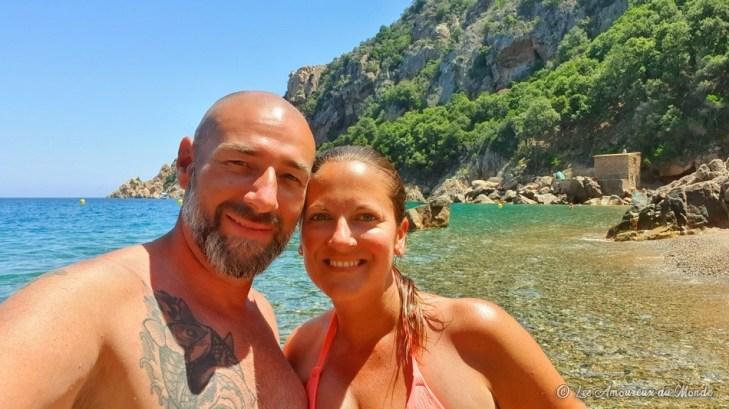se baigner aux Calanques de Piana - Plage de Ficajola