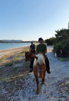 Balade à cheval en Corse