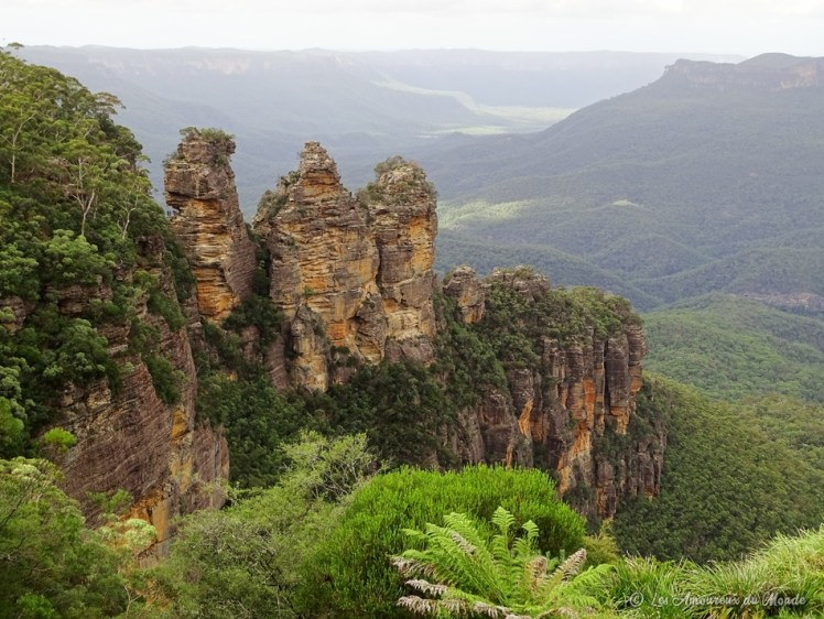 Blue Mountains - Echo Point Three sisters - Australie
