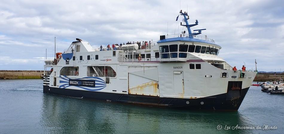 bateau compagnie Océane pour Belle île en Mer