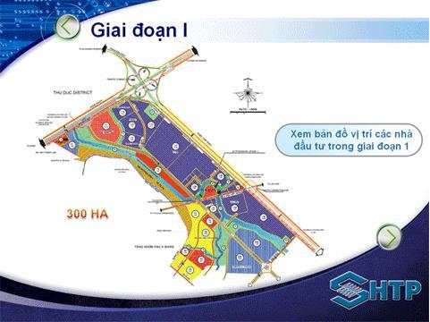 Quy hoạch khu công nghệ cao quận 9 - giai đoạn 1