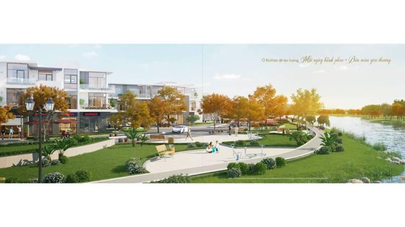 Phối cảnh công viên tại dự án Rio Vista Quận 9