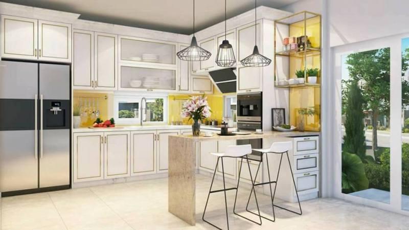 Phối cảnh thiết kế phòng bếp