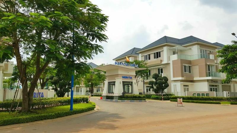 Nhà phố Merita Khang Điền nằm đối diện Thủ Thiêm Garden (giá từ hơn 5 tỷ)
