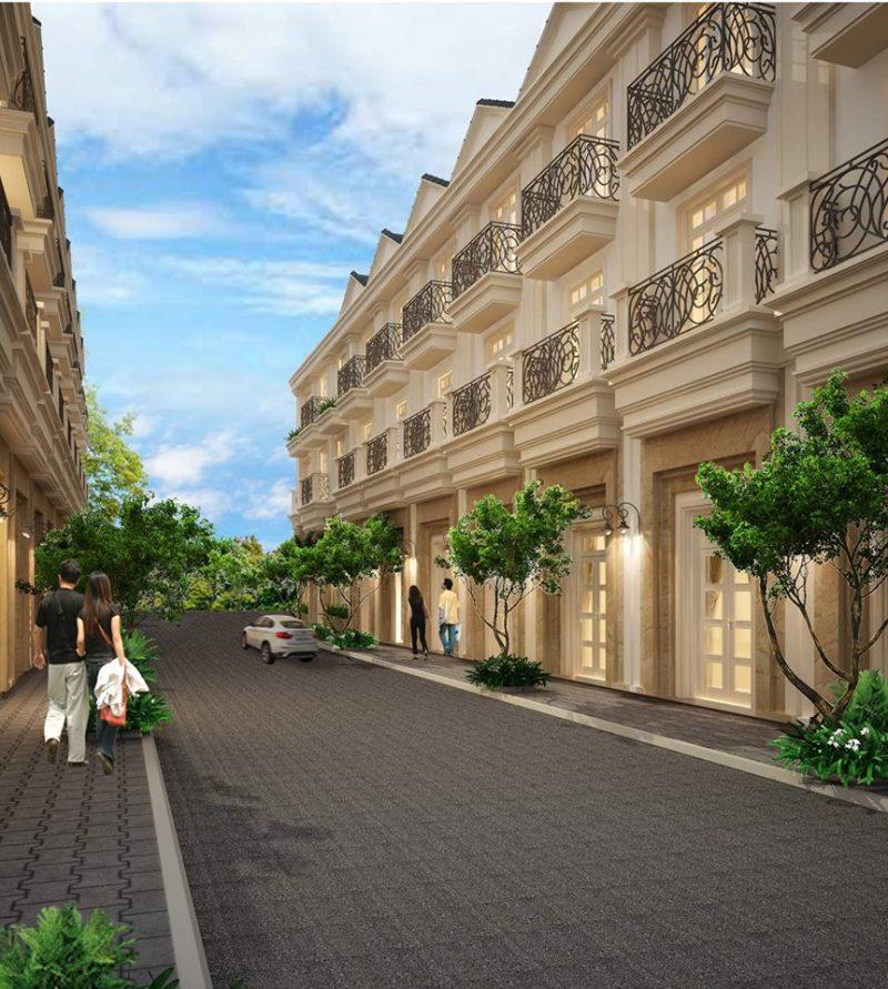 Phối cảnh dự án nhà phố Bùi Tư Toàn