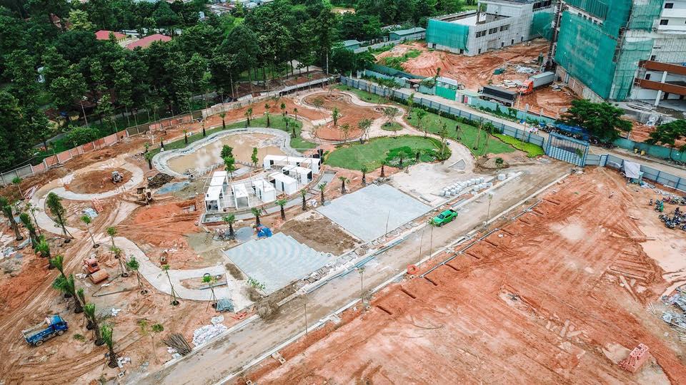 Tiến độ thị công hạ tầng dự án Symbio Garden Quận 9