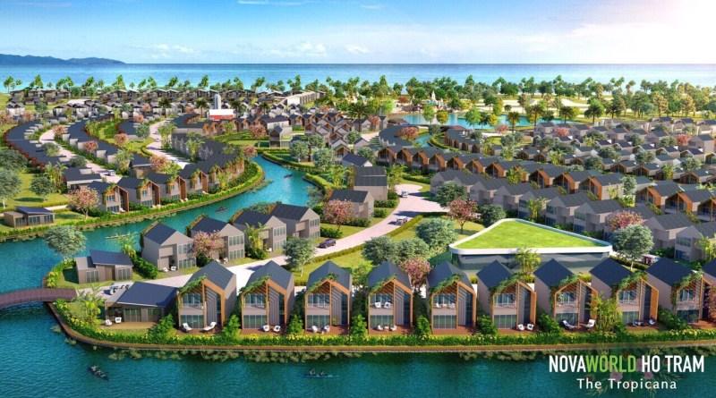 NovaWorld Hồ Tràm – The Tropicana, Nhà phố Biển 4.5 Tỷ