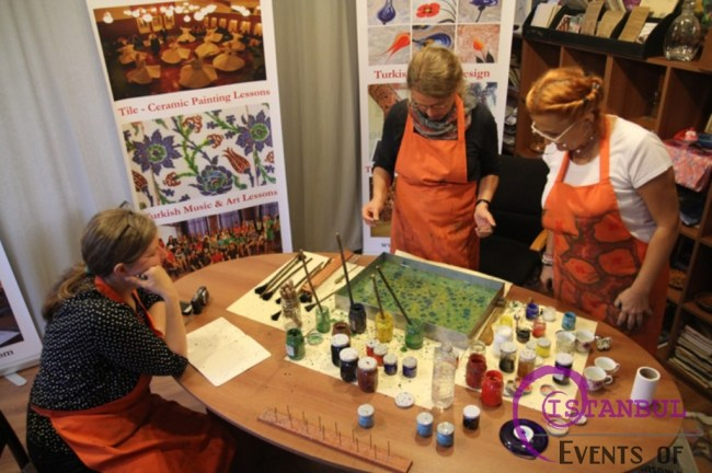 Turkish Marbling Ebru Lessons Workshops In Istanbul
