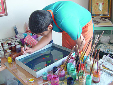 TURKISH MARBLING, EBRU