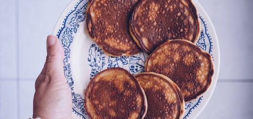 Pancakes cétogènes au sésame