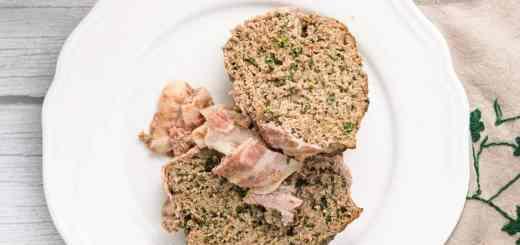 Pain de viande cétogène aux épinards