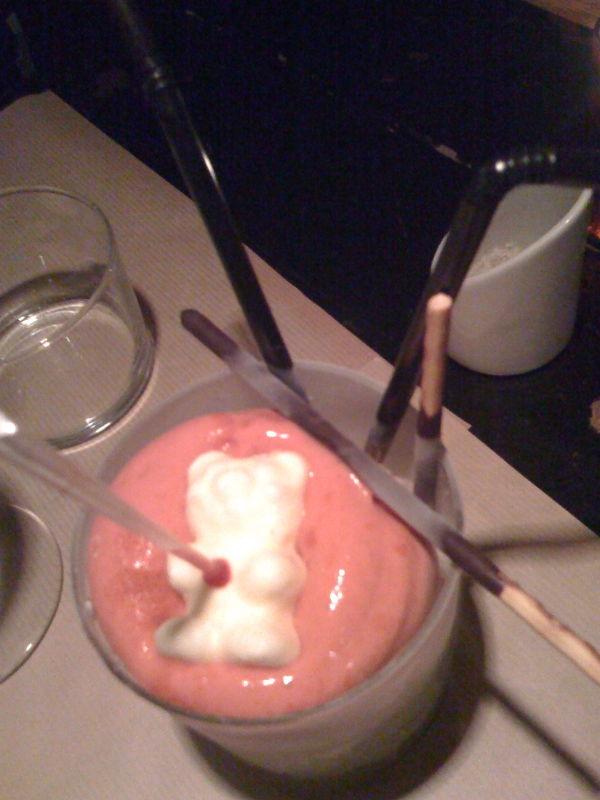 strawberry cayenne cocktail