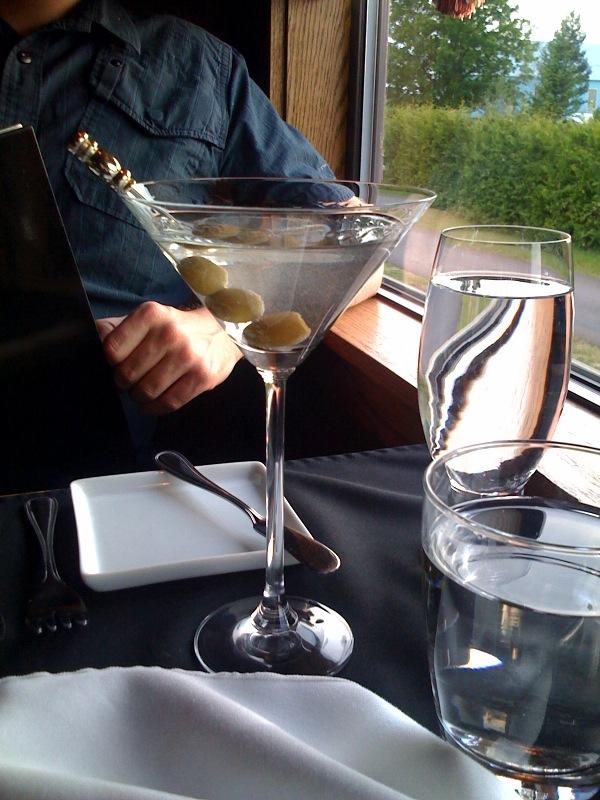 gin martini at fresh in nb