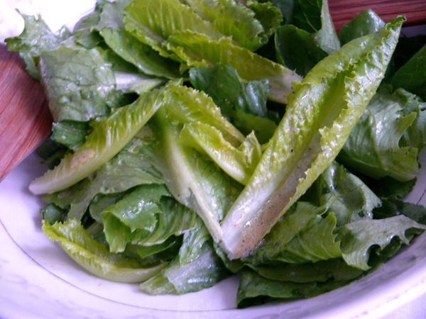 romaine leaves