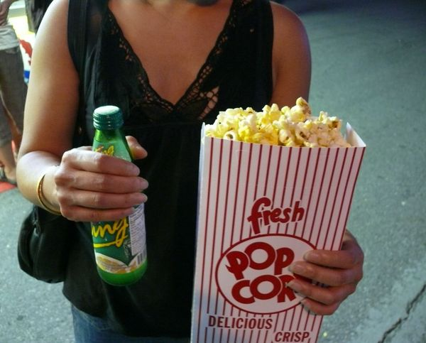 popcorn and ting!