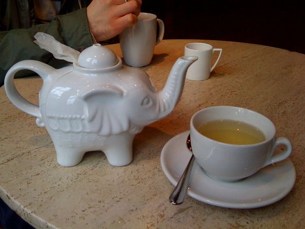 elephant teapot at hank's