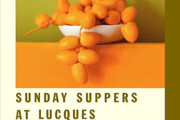 Sunday suppers at lucques cookbook