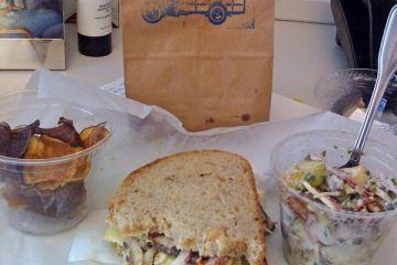 (the former) hank's mushroom sandwich