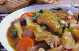 sweet and savoury stew