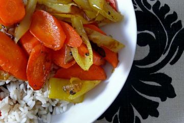 spicy carrots and banana peppers
