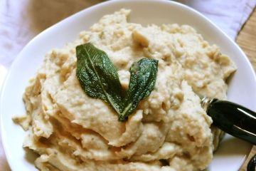tuscan white bean puree