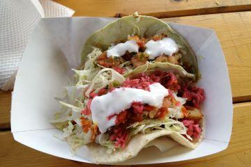 the best fish taco and papa taco