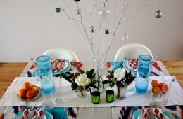 julia elliott's holiday table for le sauce