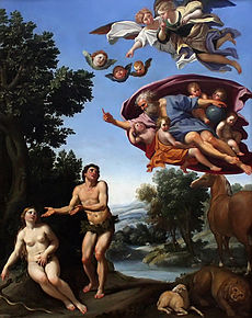 Adam et Eve Domenico Zampieri 1620 (D.R.)