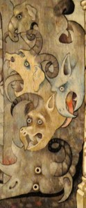Fresque dans la Cathédrale de la Chaise-Dieu