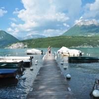Saint Jorioz, THE promenade au bord du lac d'Annecy