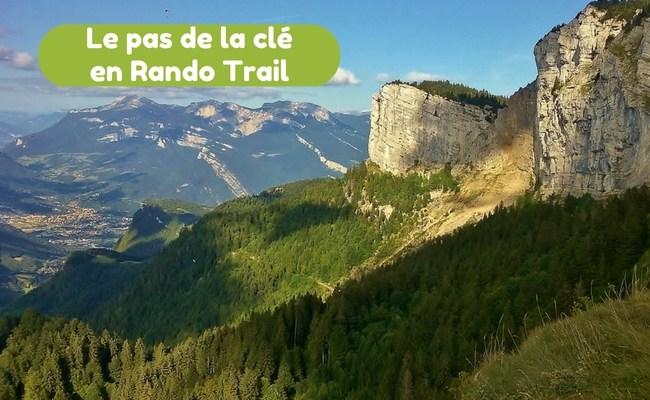 Rando trail au pas de la cle, a Autrans