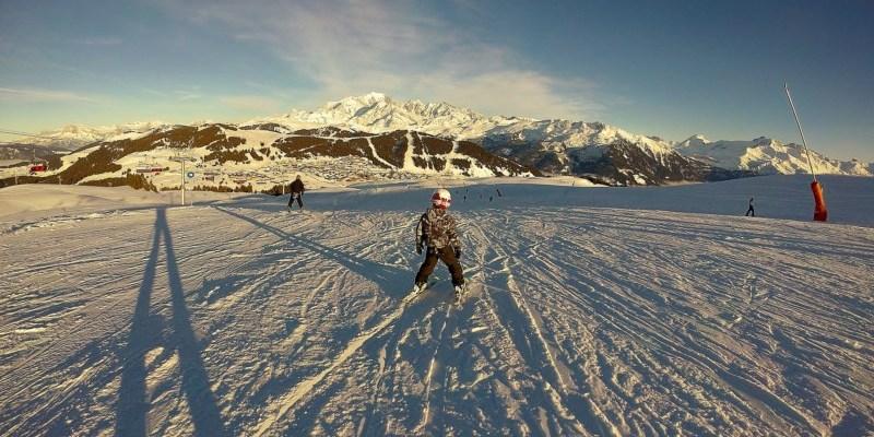 J'ai (encore) skié …. Aux Saisies