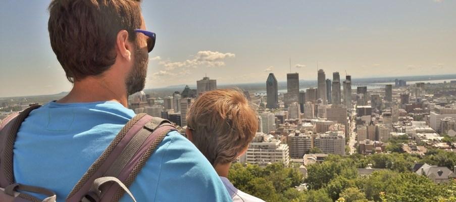 Nos 2 jours (et demi) a Montreal en famille