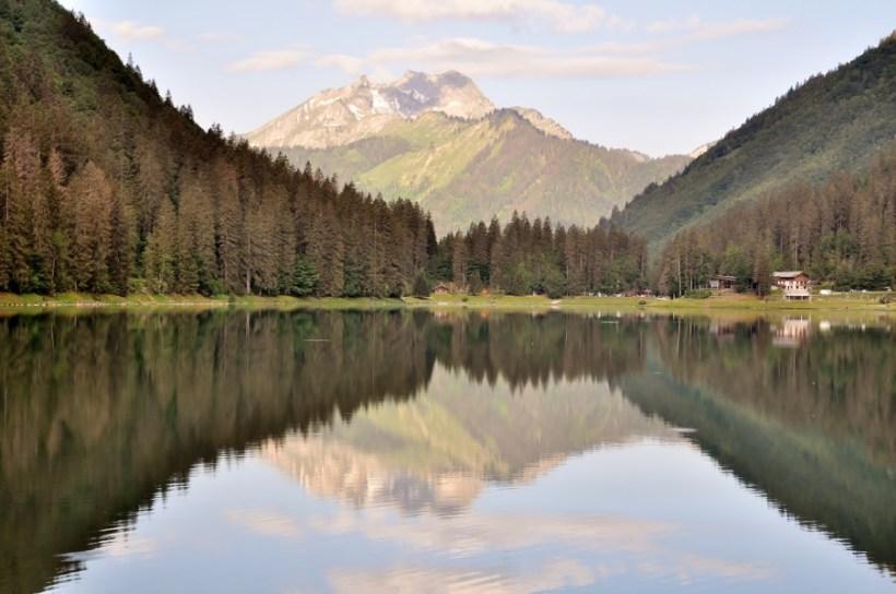 lac de montriond randonnée facile en famille