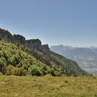 Randonnée à la croix du Nivolet, au dessus de Chambéry