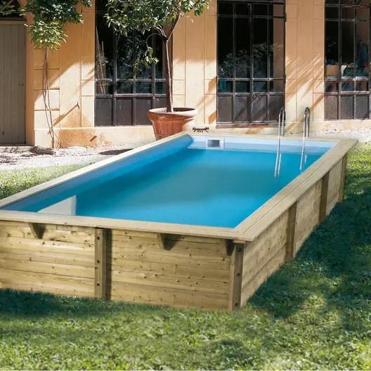 piscine bois ubbink leroy merlin