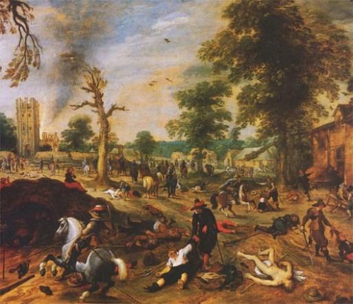 Sébastien Vrancx - Les horreurs de la guerre - début XVIIème - Hollande