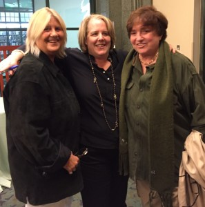 Robin Tyler with wife Diane Olson and Roberta Kaplan